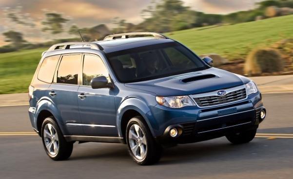 Subaru Forester angular front