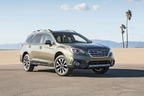 Subaru Outback angular front