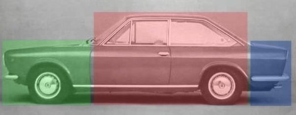 A typical sedan
