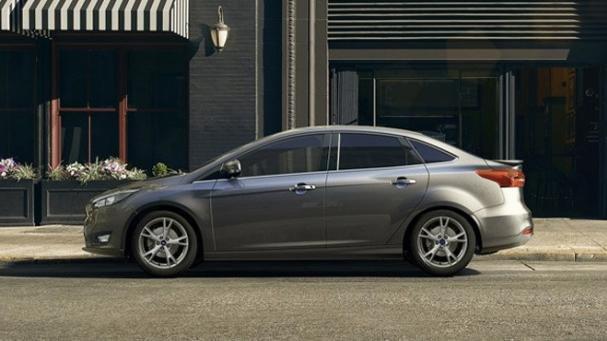 Ford Focus sedan side view