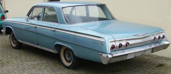 Chevrolet Impala angular front