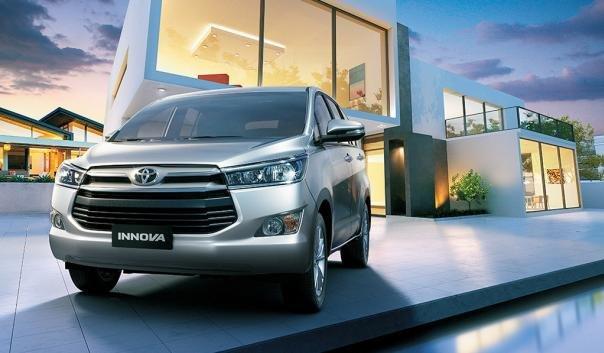 Toyota Innova 2018 angular front