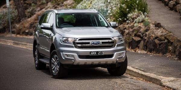 Ford Everest 2018 exterior
