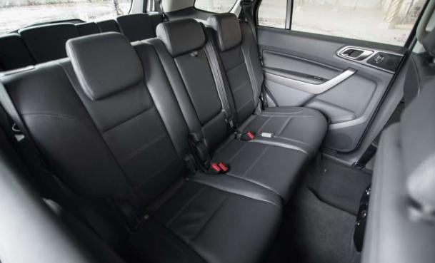 Ford Everest 2018 seating
