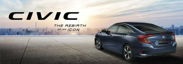 Honda Civic 2019 model slogan