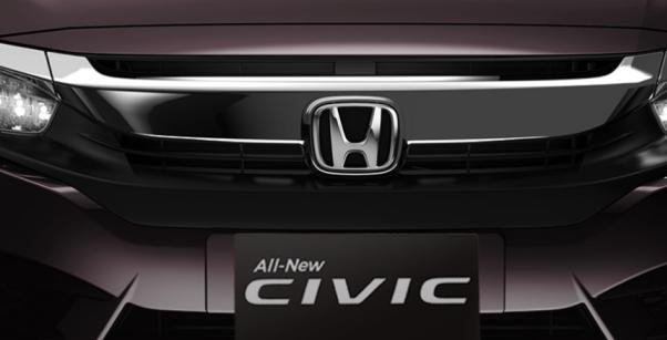 Honda Civic 2018 front grille