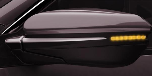Honda Civic 2018 door mirrors