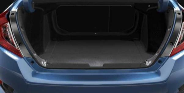 Honda Civic 2018 trunk space