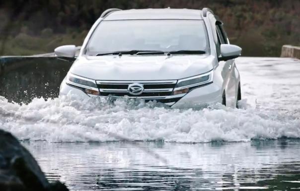 Daihatsu Terios 2018 front fascia