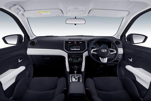 daihatsu terios 2018 interior moving insides styling cues from the last concept seems to overflow