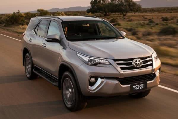 Toyota Fortuner angular front