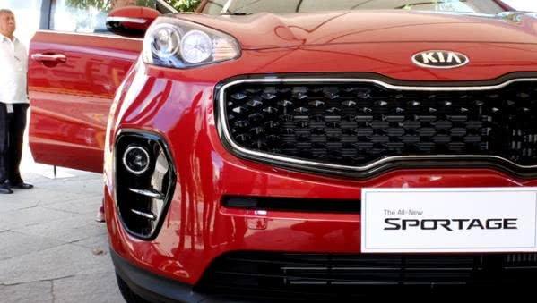Kia Sportage Philippines front fascia