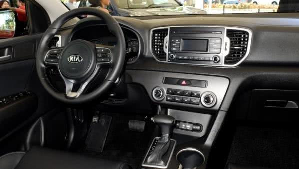Kia Sportage Philippines interior