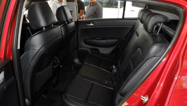 Kia Sportage Philippines seating