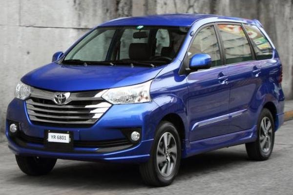 Angular front of a Toyota Avanza 2018