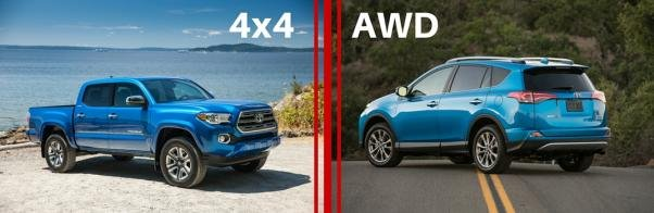 4WD and AWD