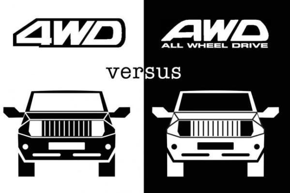 4WD vs. AWD