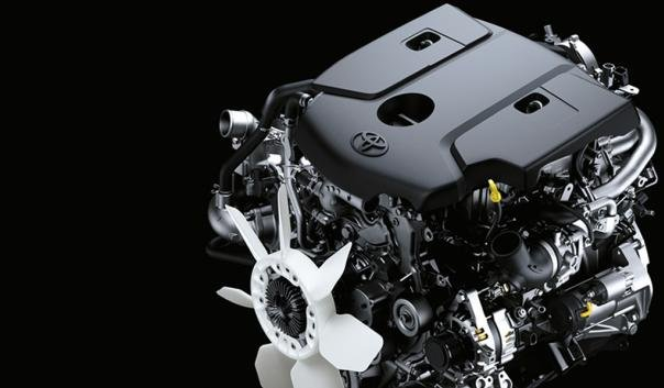 Toyota Hilux 2018 engine