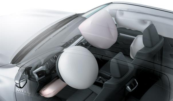 Toyota Hilux 2018 airbags system
