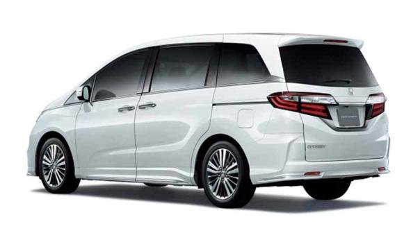 Honda Odyssey 2018 angular rear