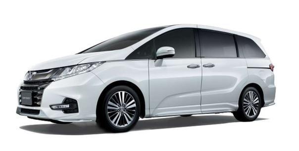 Honda Odyssey 2018 angular front