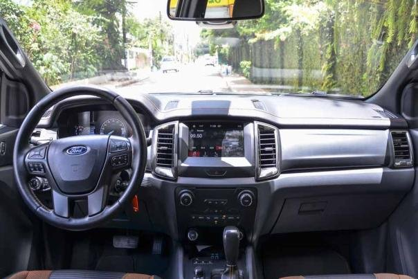 Ford Ranger 2018 dashboard area