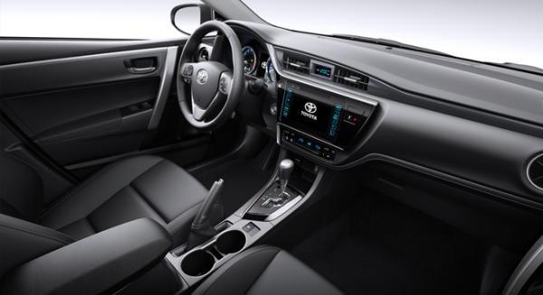 Toyota Altis 2018 interior