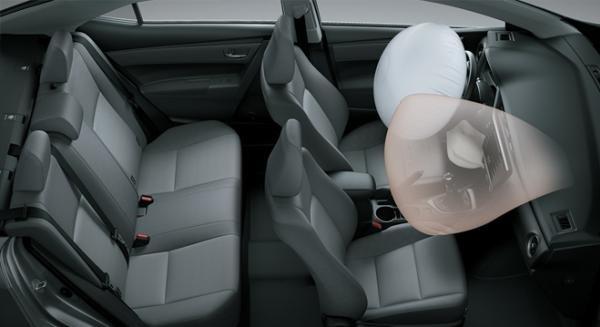 Toyota Altis 2018 airbags