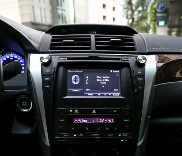 Toyota Camry 2017 dashborad