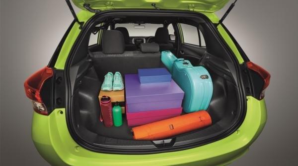 Toyota Yaris 2018 luggage trunk