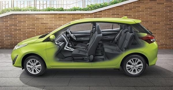 Toyota Yaris 2018 seating