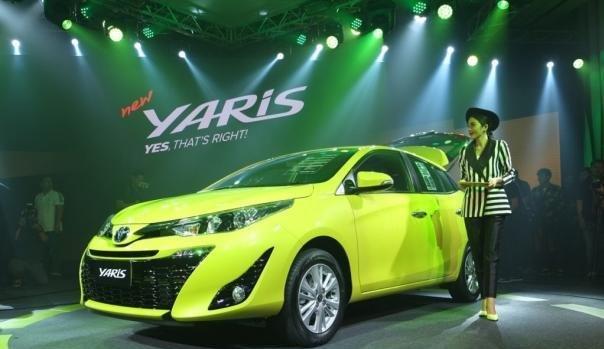 Toyota Yaris 2018 angular front