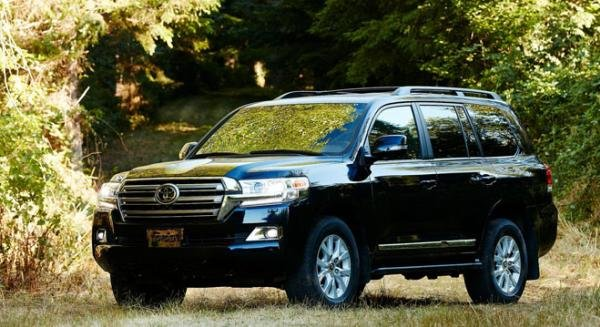 Toyota Land Cruiser 2018 angular front