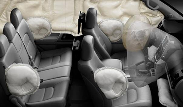 Toyota Land Cruiser 2018 airbags