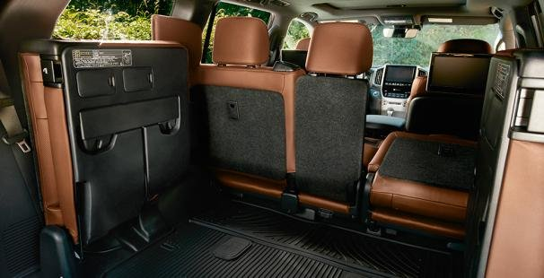 Toyota Land Cruiser 2018 seats