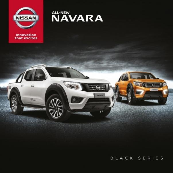 2018 Nissan Navara Black Series models