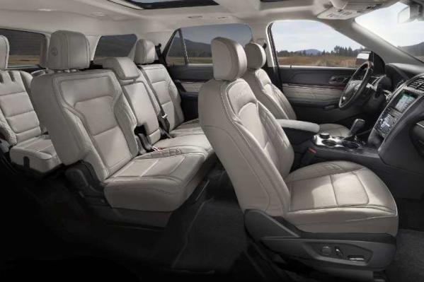 Ford Explorer 2018 seating