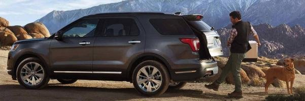 Ford Explorer 2018 cargo space