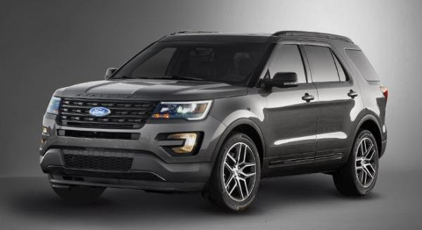 Ford Explorer 2018 angular front