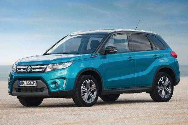Angular front of the 4th gen Suzuki Vitara