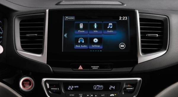 Honda Pilot 2018 entertainment system