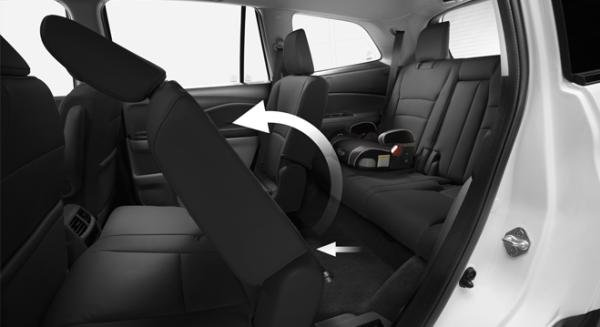 Honda Pilot 2018 seating