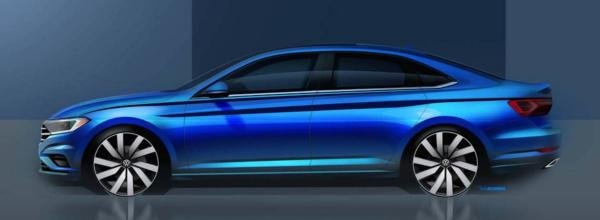 Volkswagen Jetta 2019 latest teaser