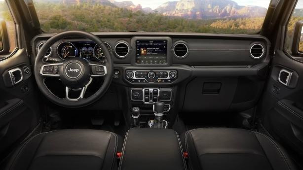Jeep Wrangler 2018 interior