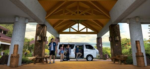 Toyota Hiace 2018 with family