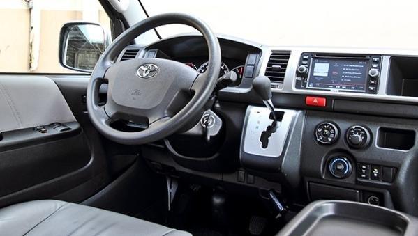 Toyota Hiace 2018 interior