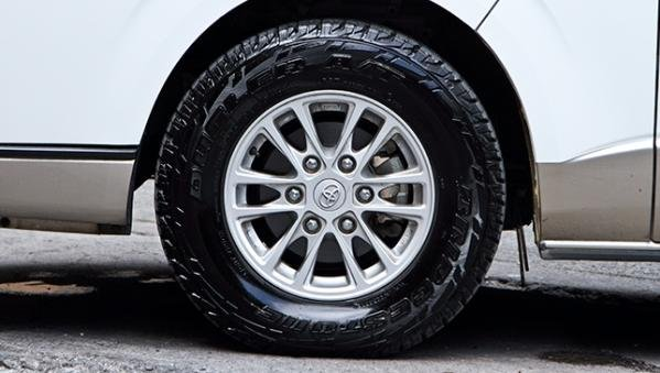 Toyota Hiace 2018 wheel