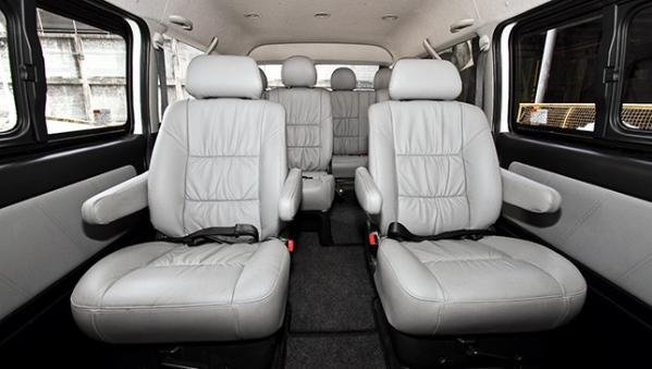 Toyota Hiace 2018 seating