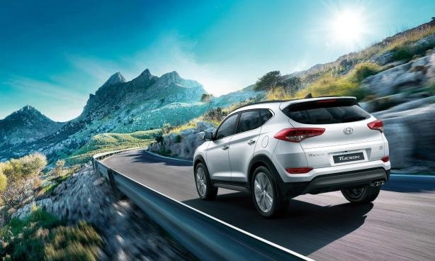 Hyundai Tucson 2019 angular rear