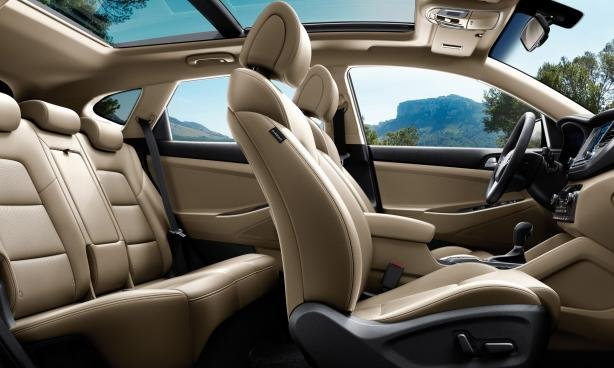 2018 Hyundai Tucson seating capacity
